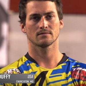 Headshot of Pro MX rider Greg Duffy