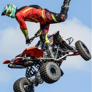 Jon Guetter: Quad Freestyle Pioneer- First rider to successfully land a backflip on a quad