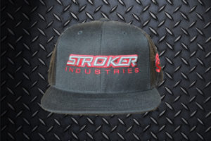 Stroker Industries Apparel Classic Hat Flat Brim Snap Back Front View